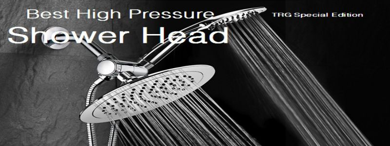 Top #10 Best High Pressure Shower Head Reviews & Buyer's Guide