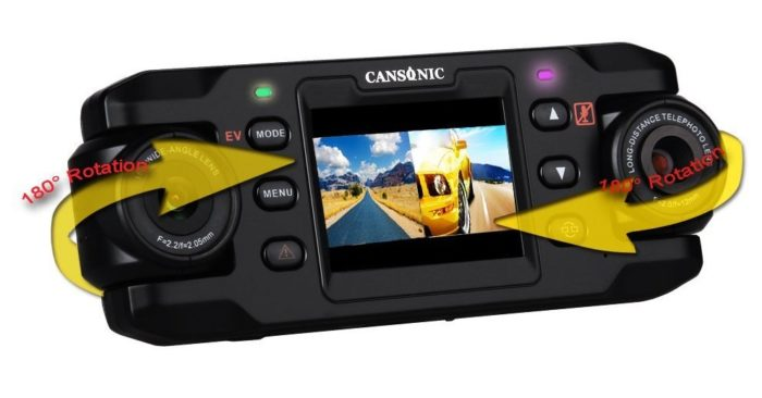 Cansonic UltraDuo Z1 Car Dash Cam
