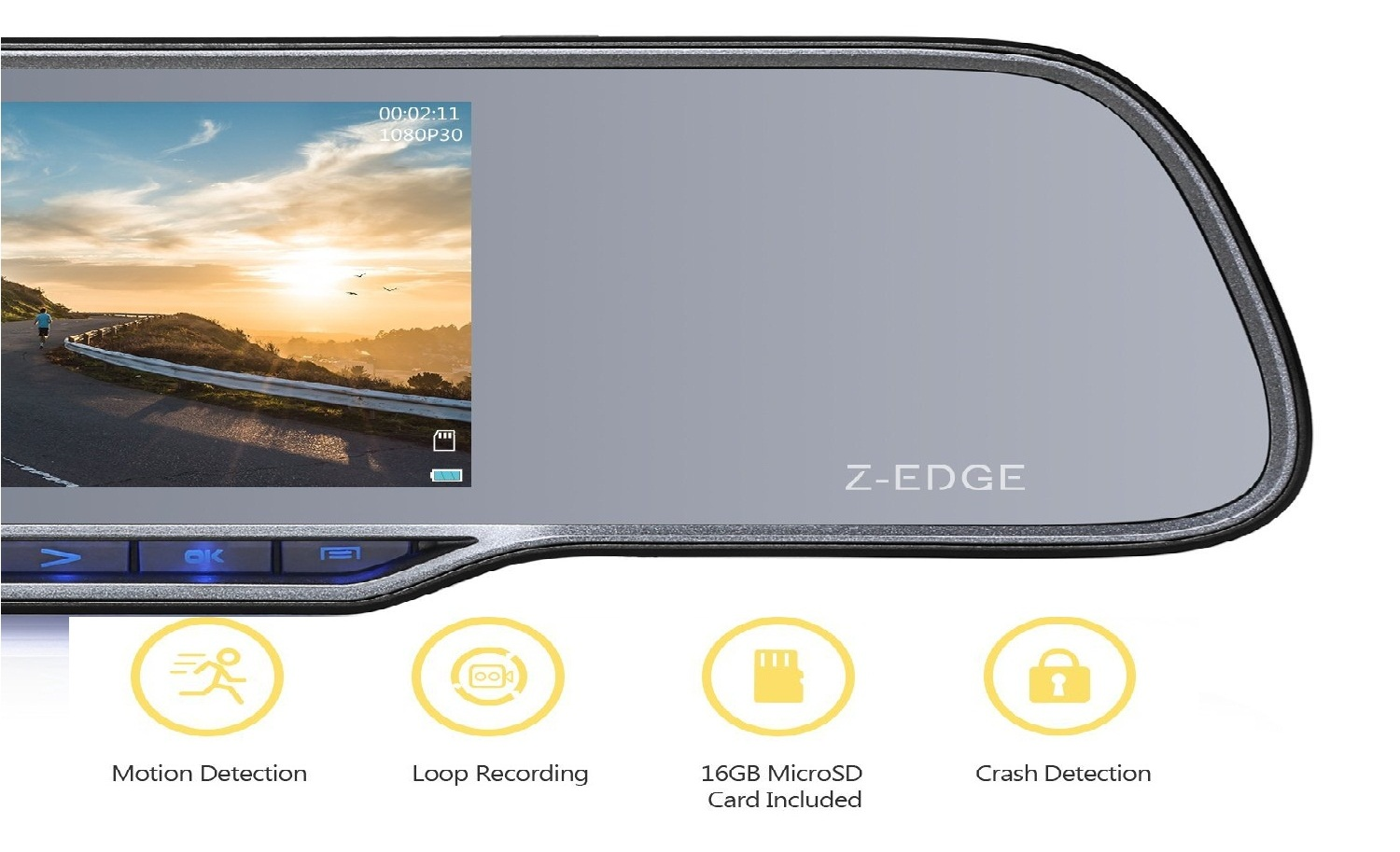 Z-EDGE Z2Pro Dash Cam Review