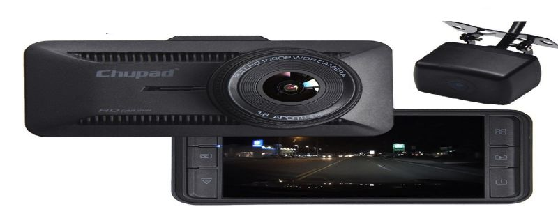 "Chupad X16 Dual Dash Cam ""Dash Cam Front And Rear Review"""