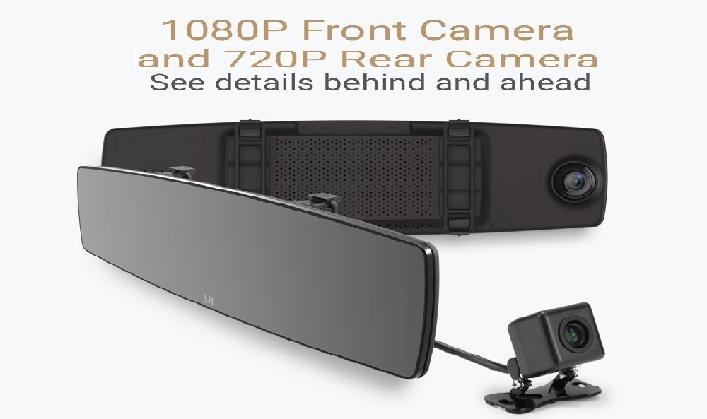 YI Mirror Dash Cam Review