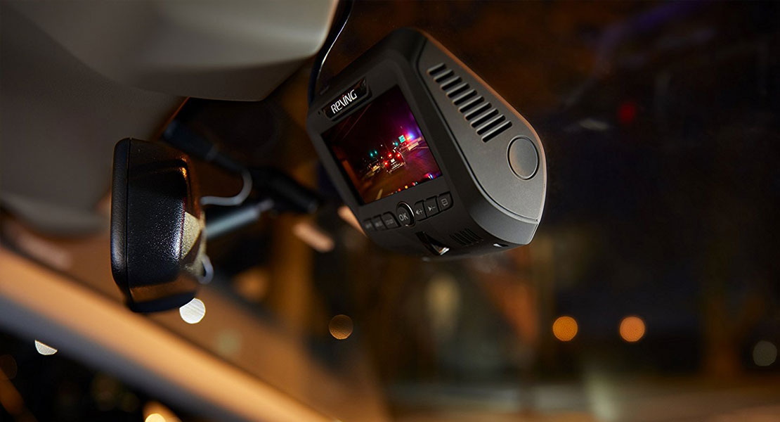 Rexing V1LG Dual Channel Car Dash Cam
