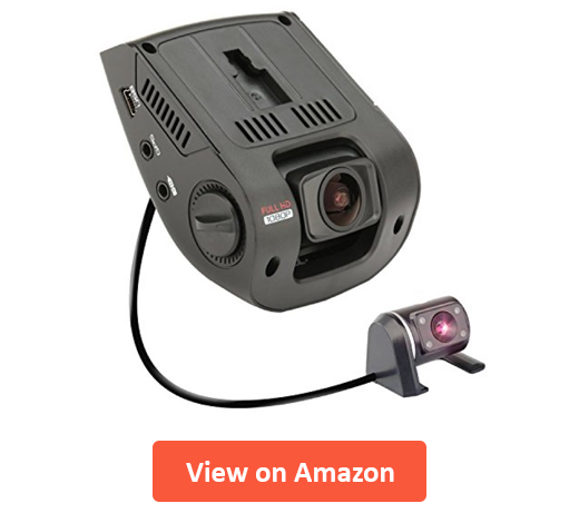 Rexing V1P 2.4 Front and Rear Dash Cam