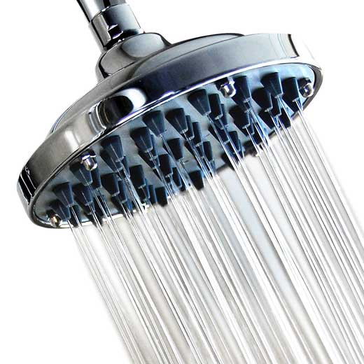 Wantba 6″ High Pressure Rainfall Massage Shower Head